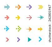 vector illustration colorful... | Shutterstock .eps vector #262801967