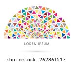 abstract construction ... | Shutterstock .eps vector #262861517