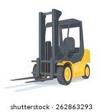 loader car. eps10 vector...   Shutterstock .eps vector #262863293