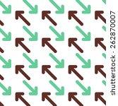 arrows pattern   Shutterstock .eps vector #262870007