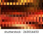 bright abstract mosaic orange... | Shutterstock . vector #263016653