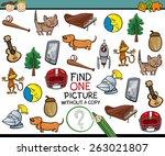 cartoon vector illustration of... | Shutterstock .eps vector #263021807