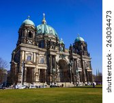 berlin   march 18  berlin... | Shutterstock . vector #263034473