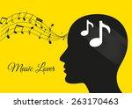 music from brain yellow...