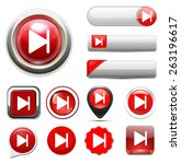 media player button | Shutterstock .eps vector #263196617