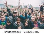 moscow  russia   june 29  2014  ... | Shutterstock . vector #263218487