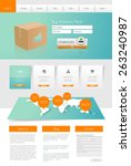 professional website template...