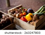 Fresh Vegetables In Boxes ...