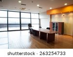 interior of an office in a... | Shutterstock . vector #263254733