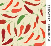 Seamless Pattern With Hot...