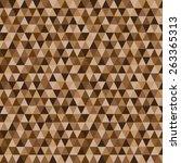geometrical seamless vector... | Shutterstock .eps vector #263365313