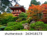 Japanese Tea Garden In Golden...
