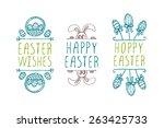 Set Of Hand Sketched Easter...