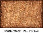 Wooden Chipboard Reverse Side ...