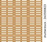 wooden transport pallet texture ... | Shutterstock .eps vector #263500823