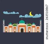 mosque | Shutterstock .eps vector #263510867