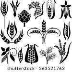 cereal set   Shutterstock .eps vector #263521763