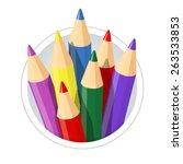 Set Of Colour Pencils For...