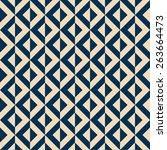 seamless geometric background... | Shutterstock .eps vector #263664473