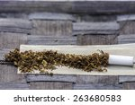 Tobacco In Rolling Paper With ...