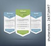 vector price plane table for... | Shutterstock .eps vector #263718497