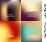 abstract colorful vector... | Shutterstock .eps vector #263720993