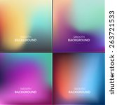 abstract colorful vector...   Shutterstock .eps vector #263721533
