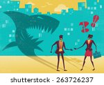 great illustration of a... | Shutterstock .eps vector #263726237