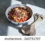 Quinoa Bean Salad  Vegetarian...