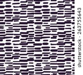 abstract seamless pattern with... | Shutterstock .eps vector #263755643
