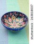 Colorful Turkish Bowl
