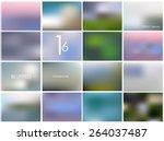 Set Of 16 Different Landscape...