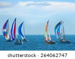 Sailboat Regatta Race With...