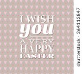 vector i wish you a very happy...   Shutterstock .eps vector #264112847