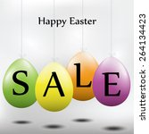 Easter Sale Easter Eggs Hangin...
