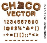 Choco Vector  Abc   Numbers An...