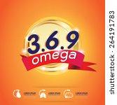 kids calcium omega 3 vitamin... | Shutterstock .eps vector #264191783
