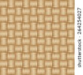 wooden striped textured... | Shutterstock .eps vector #264254027