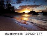 Lake Tahoe Nevada Sunset At...