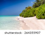 Small photo of Thoddoo Island beach, Maldives - Alif Alif Atoll.