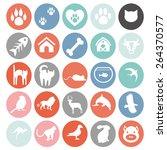 Set Of Animals Icons