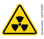the radiation icon. radiation
