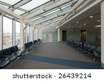 rows of vacant chairs at empty... | Shutterstock . vector #26439214