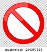 vector blank ban | Shutterstock .eps vector #264397913