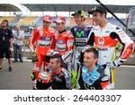 Постер, плакат: 2015 Italian MotoGP riders