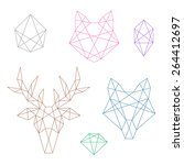 A Set Of Several Polygonal...