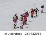 etna ski alp   world...   Shutterstock . vector #264432053