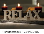 Text Of The Words Relax With...