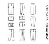 pants | Shutterstock .eps vector #264434873