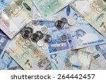 qatar currency   Shutterstock . vector #264442457